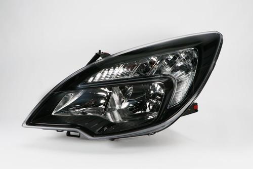 Headlight left black Vauxhall Meriva 10-13
