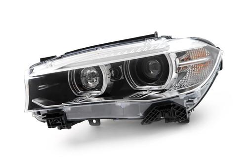 Headlight left Bi-xenon LED DRL AFS BMW X5 14-