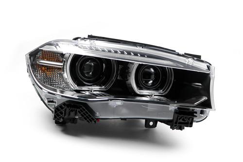 Headlight right Bi-xenon LED DRL BMW X5 14-