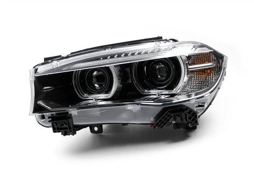 Headlight left Bi-xenon LED DRL BMW X6 14-