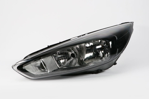 Headlight left black DRL Ford Focus 14-17