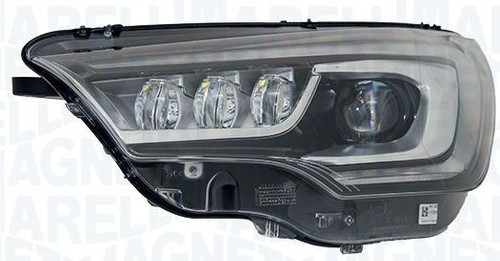 Headlight right bi-xenon LED DRL AFS Citroen C4 15-17
