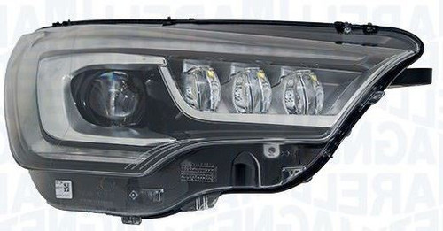 Headlight left bi-xenon LED DRL AFS Citroen C4 15-17