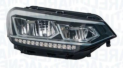 Headlight right full LED VW Touran 15-