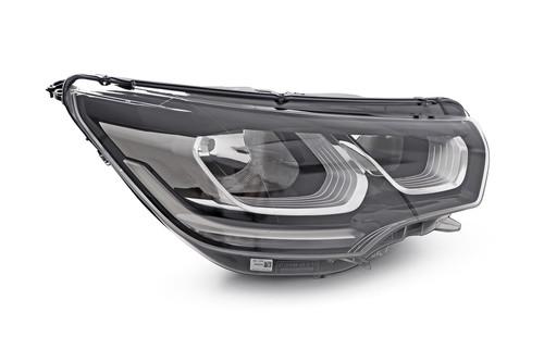 Headlight right LED DRL Citroen C4 14-17