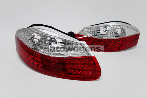 Rear lights set clear/red LED Porsche Boxter 986 96-04