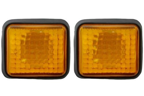 Side indicators set orange Peugeot 205 90-98