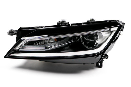 Headlight left bi-xenon LED DRL Audi TT 14-