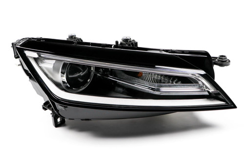 Headlight right bi-xenon LED DRL Audi TT 14-