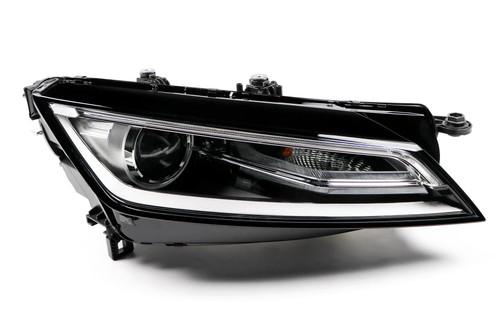 Headlight right bi-xenon LED DRL Audi TT 14-