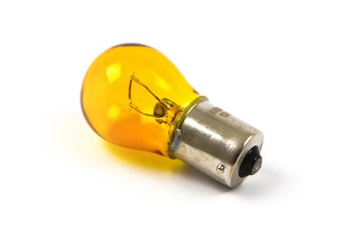 P21W Yellow rear light bulb BA15S