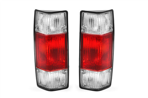 Rear lights set clear red VW Caddy MK1 79-92