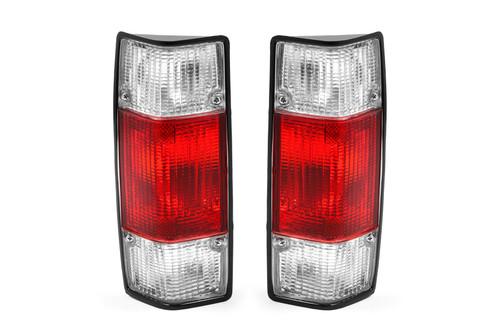 Rear lights set clear red VW Caddy MK1 79-92