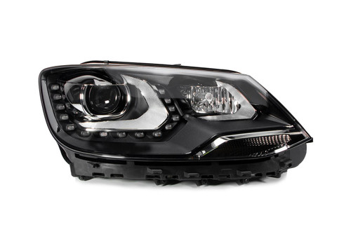 Headlight right Bi-xenon LED DRL AFS VW Sharan 10-14