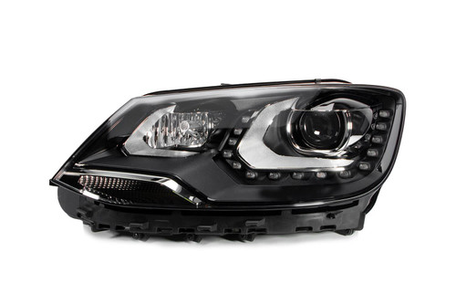 Headlight left Bi-xenon LED DRL AFS VW Sharan 10-14