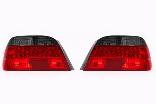 Rear lights set smoked red LED BMW 7 Series E38 95-01 Saloon