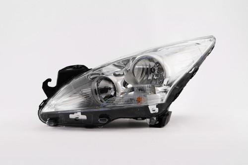 Headlight left Peugeot 3008 09-12