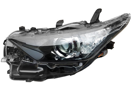 Headlight left LED DRL Toyota Auris 15-