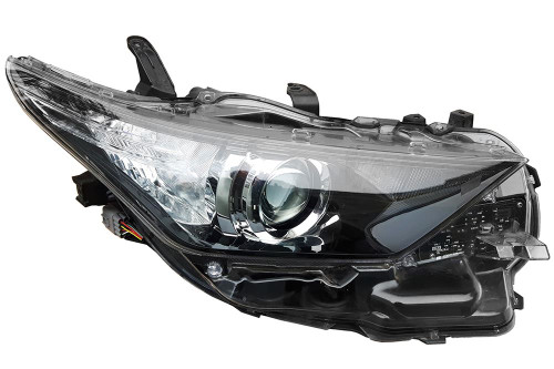 Headlight right LED DRL Toyota Auris 15-