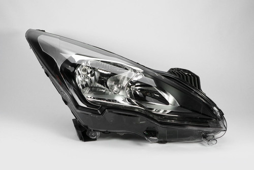 Headlight right LED DRL Peugeot 3008 13-16