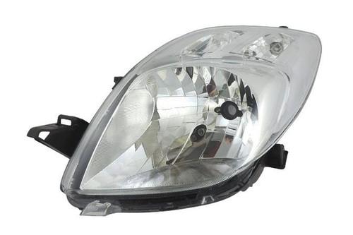 Headlight left Toyota Yaris 06-08