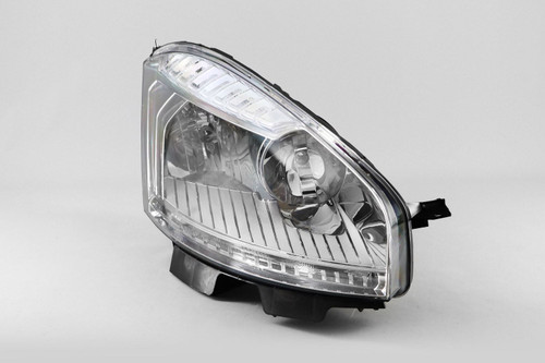 Headlight right DRL Citroen C4 Picasso 07-10