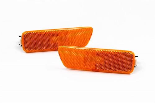 Sidemarker lights set orange VW Golf MK4 Bora