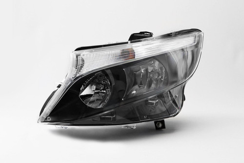 Headlight left DRL black Mercedes-Benz Vito 16-