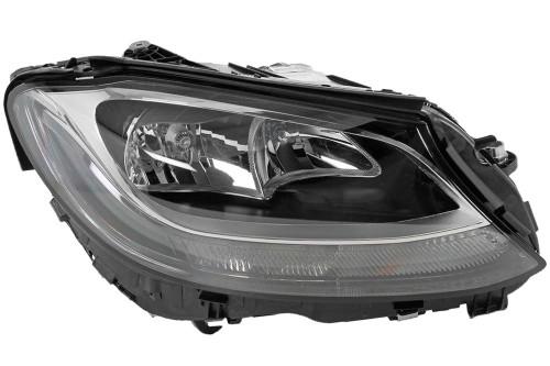 Headlight right LED DRL Mercedes-Benz C Class W205 15-18 OEM