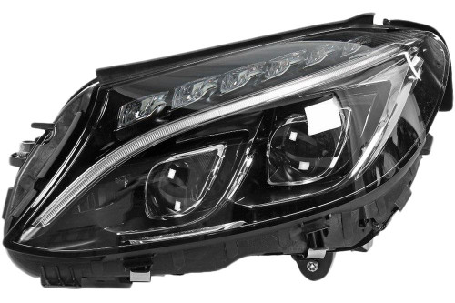 Headlight left LED AFS Mercedes-Benz C Class W205 15-18