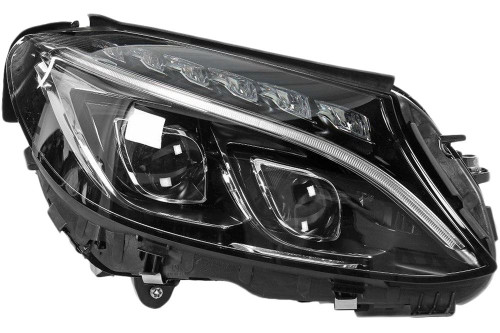 Headlight right LED AFS Mercedes-Benz C Class W205 15-18