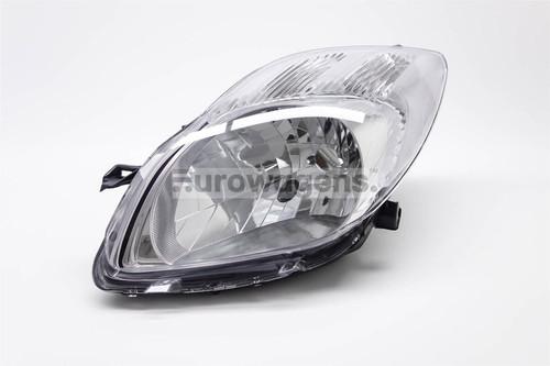 Headlight left Toyota Yaris 06-08 Valeo