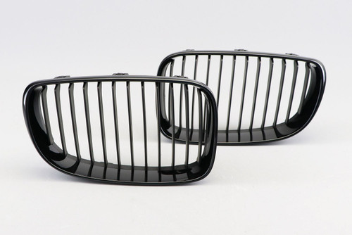 Kidney grille gloss black BMW 1 Series E82 LCI 07-12 Coupe
