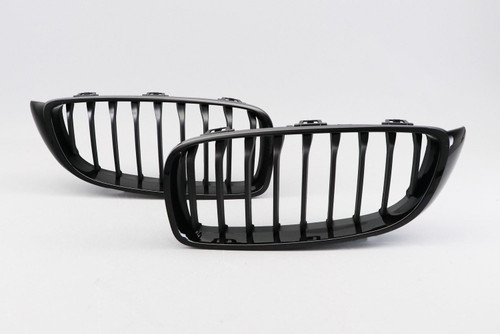 Kidney grille gloss black M performance look BMW 4 Series F32 14-
