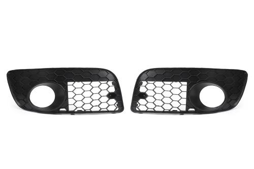 Front bumper fog light grille set VW Golf MK5 GTI 03-09