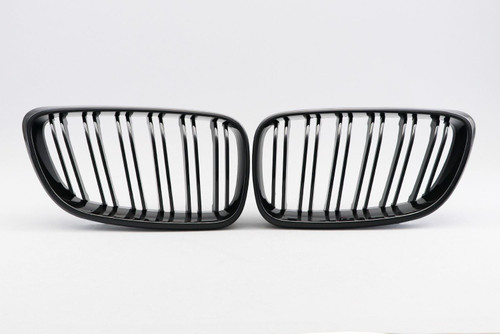 Kidney grille gloss black M look BMW 2 Series F22 12-17