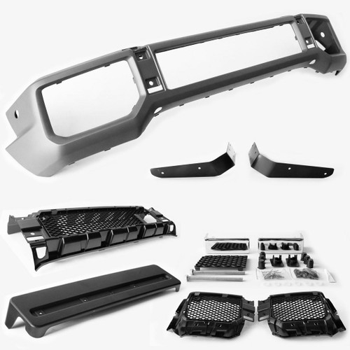 Front bumper with grilles AMG G63 Look Mercedes Benz G Class W463 02-15