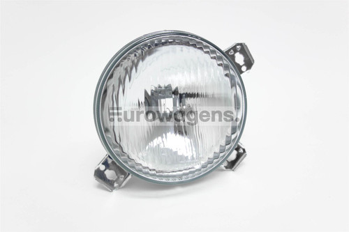 Front spot light left with clips VW Golf MK2