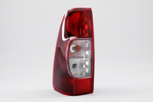 Rear light left crystal clear dark red Isuzu Rodeo Dmax 07-12