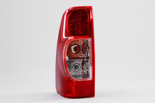 Rear light left crystal clear red Isuzu Rodeo Dmax 07-12