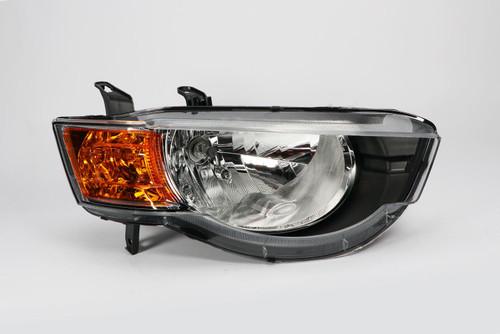 Headlight right Mitsubishi Colt 09-12