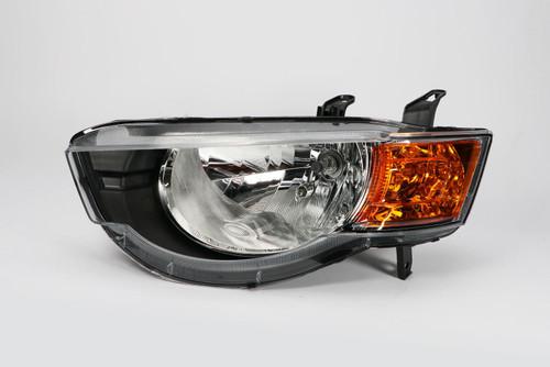 Headlight left Mitsubishi Colt 09-12