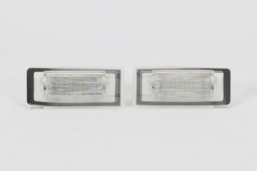 Number plate lights set LED Audi TT 99-05