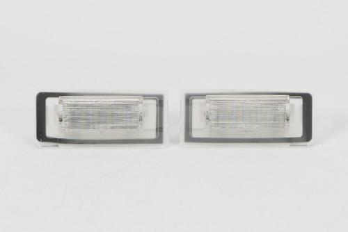 Number plate lights set LED Audi TT 99-05