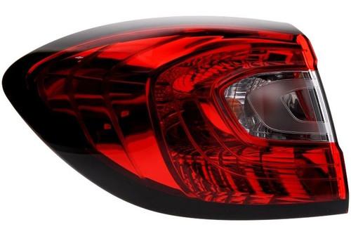 Rear light left Renault Captur 13-16