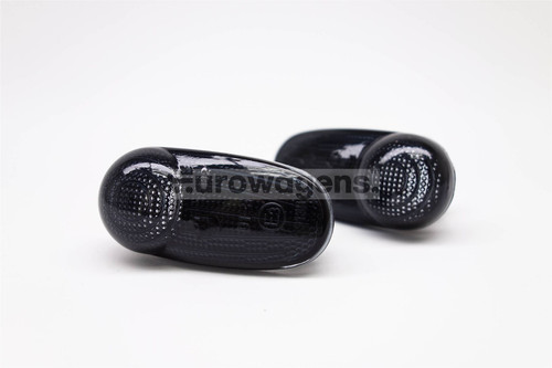 Side indicators set black Alfa Romeo Mito 08-16