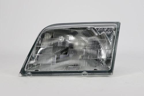 Headlight clear left Mercedes-Benz SL R129 98-01