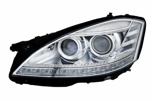 Headlight left Bi-xenon AFS IR Mercedes-Benz S Class W221 09-13
