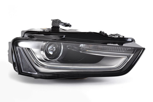 Headlight right Bi-Xenon with LED DRL Audi A4 B8 12-15