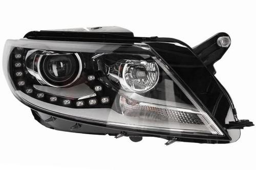 Headlight right Bi-xenon LED DRL PDHB VW CC 12-16